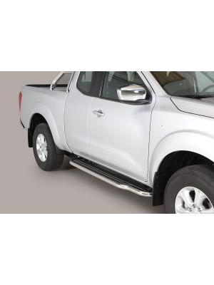 Side Bars | Nissan | Navara 16- 2d pic. | RVS