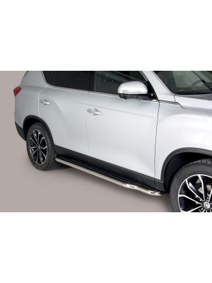 Side Bars | Ssangyong | Rexton 17- 5d suv. | RVS