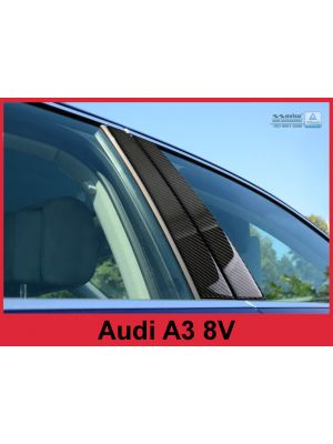 Sierlijsten B-Stijl | Audi | A3 Limousine 16- 4d sed. | Carbon zwart