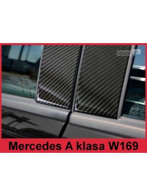 Sierlijsten B-Stijl | Mercedes-Benz | A-klasse 04-08 5d mpv. | Carbon zwart