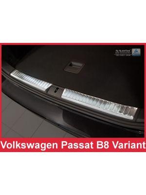 Laadruimtebeschermer | Volkswagen | Passat Variant 14- 5d sta. | RVS rvs zilver