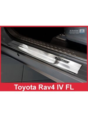 Instaplijsten | Toyota | C-HR 16- 5d hat. / RAV4 16-19 5d suv. | RVS 4-delig