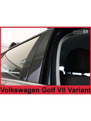 Sierlijsten B-Stijl | Volkswagen | Golf Variant 17- 5d sta. | Carbon zwart