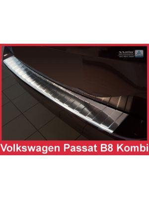 Achterbumperbeschermer | Volkswagen | Passat Variant 14- 5d sta. | RVS