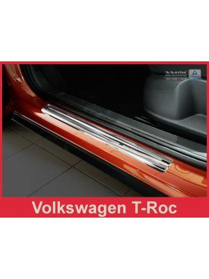Instaplijsten | Volkswagen | T-Roc 17- 5d suv. | RVS Glanzend Sportline