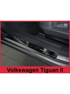 Instaplijsten | Volkswagen | Tiguan 16- 5d suv. / Tiguan Allspace 17- 5d suv. | RVS zwart Special 4-delig