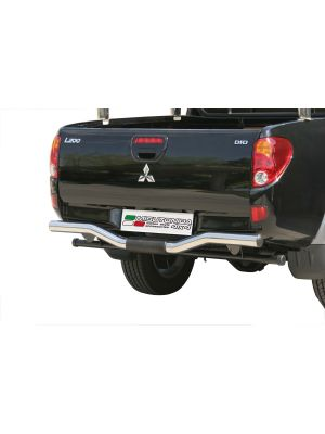 Rear Bar | Mitsubishi | L200 C.C. 06-09 2d pic. / L200 D.C. 06-09 4d pic. | RVS