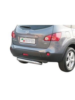 Rear Bar   Nissan   Qashqai 08-10 5d suv. / Qashqai 10-14 5d suv.   RVS