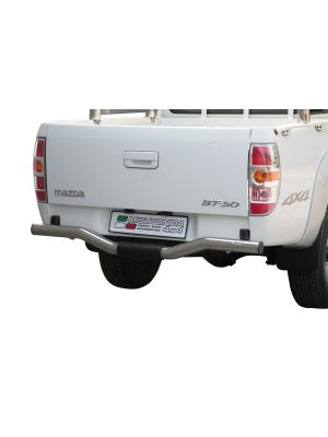 Rear Bar | Mazda | BT50 D.C. 09-12 4d pic. | RVS