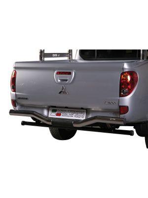 Rear Bar | Mitsubishi | L200 12-15 2d pic. | C.C. | RVS