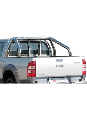 Roll Bar | Ford | Ranger 2007-2009 | 2-pijps | RVS