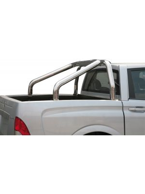 Roll Bar | Ssangyong | Actyon Sports 07-09 4d pic. | 2-pijps | RVS