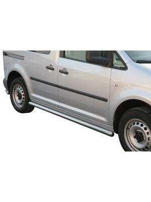 Side Bars   Volkswagen   Caddy Combi 04-10 4d mpv. / Caddy Combi 15- 5d mpv.   RVS