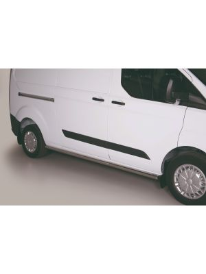 Side Bars | Ford | Transit Custom Kombi 12-18 4d bus. | RVS Lange versie (L2)