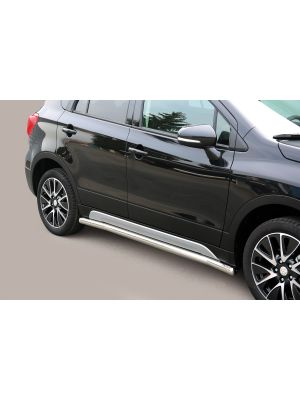 Side Bars | Suzuki | S-Cross 13-16 5d suv. / S-Cross 16- 5d suv. | RVS