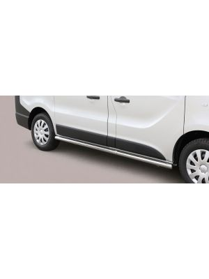 Side Bars | Opel | Vivaro Combi 14- 4d bus. | SWB | RVS