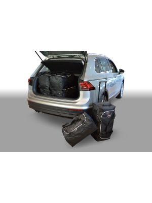 Reistassen set | Volkswagen Tiguan 2015- | diepe laadvloer | Car-Bags
