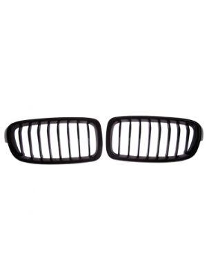 Grillen set | Nieren | BMW 3-Serie F30/F31 2012- | zwart