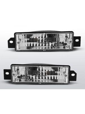 Voorknipperlichten (set)  | BMW E30 1887-1994 | chrome
