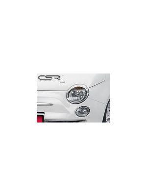 Koplampspoilers Fiat 500 2007- | ABS