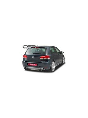 Diffuser | VW Golf 6 Hatchback | GTI Look | voor duplex einddemper | CSR HA044