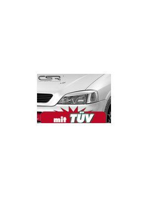 Koplampspoilers Opel Astra G (alle modellen) 1998-2005 ABS