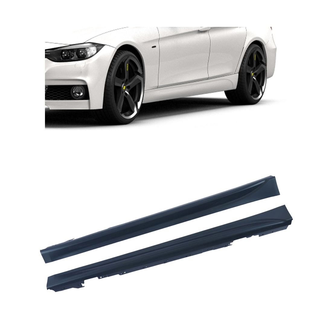Side skirts (set) | BMW 3-serie F30 / F31 | M-pakket | ABS-kunststof